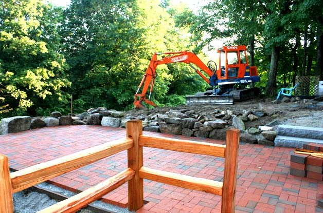 Excavation, landscaping, and site work